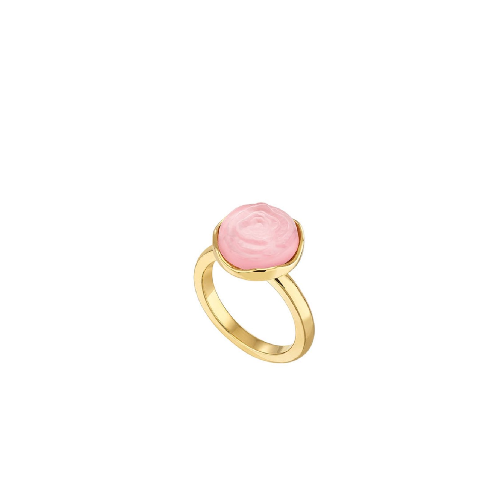 Lalique Pivoine ring